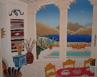 Four Corners Suite, Set of 4 Paintings 1989 40x42 Super Huge Original Painting by Thomas Frederick McKnight - 3
