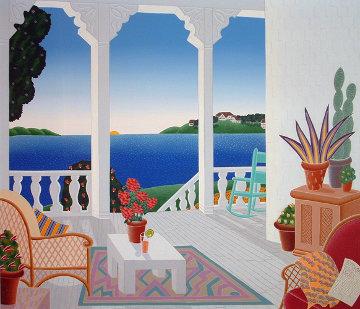 Four Corners Suite, Set of 4 Paintings 1989 40x42 Super Huge Original Painting - Thomas Frederick McKnight