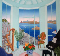Four Corners Suite, Set of 4 Paintings 1989 40x42 Super Huge Original Painting by Thomas Frederick McKnight - 2