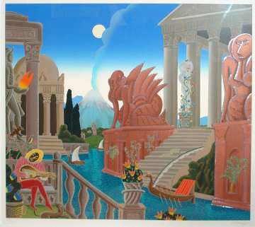 Atlantis 1987 Super Huge Limited Edition Print - Thomas Frederick McKnight