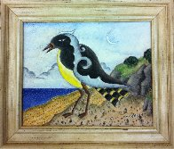 Yellow Bird 2010 8x10 Original Painting by Thomas Frederick McKnight - 1