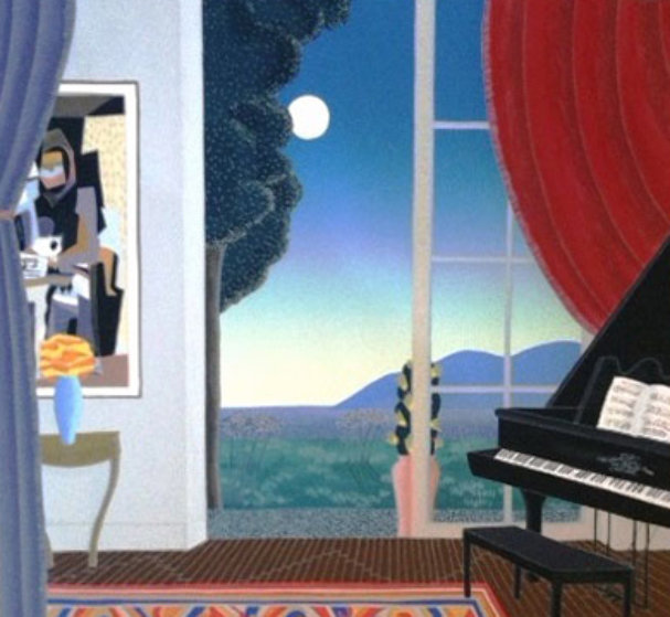 Music Room Limited Edition Print by Thomas Frederick McKnight