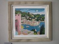 Portofino Terrace (Italy) 2010 Limited Edition Print by Thomas Frederick McKnight - 1