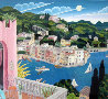 Portofino Terrace (Italy) 2010 Limited Edition Print by Thomas Frederick McKnight - 0