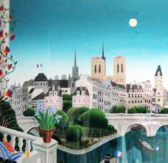 Paris: Ile De La Citi Super Huge Limited Edition Print - Thomas Frederick McKnight