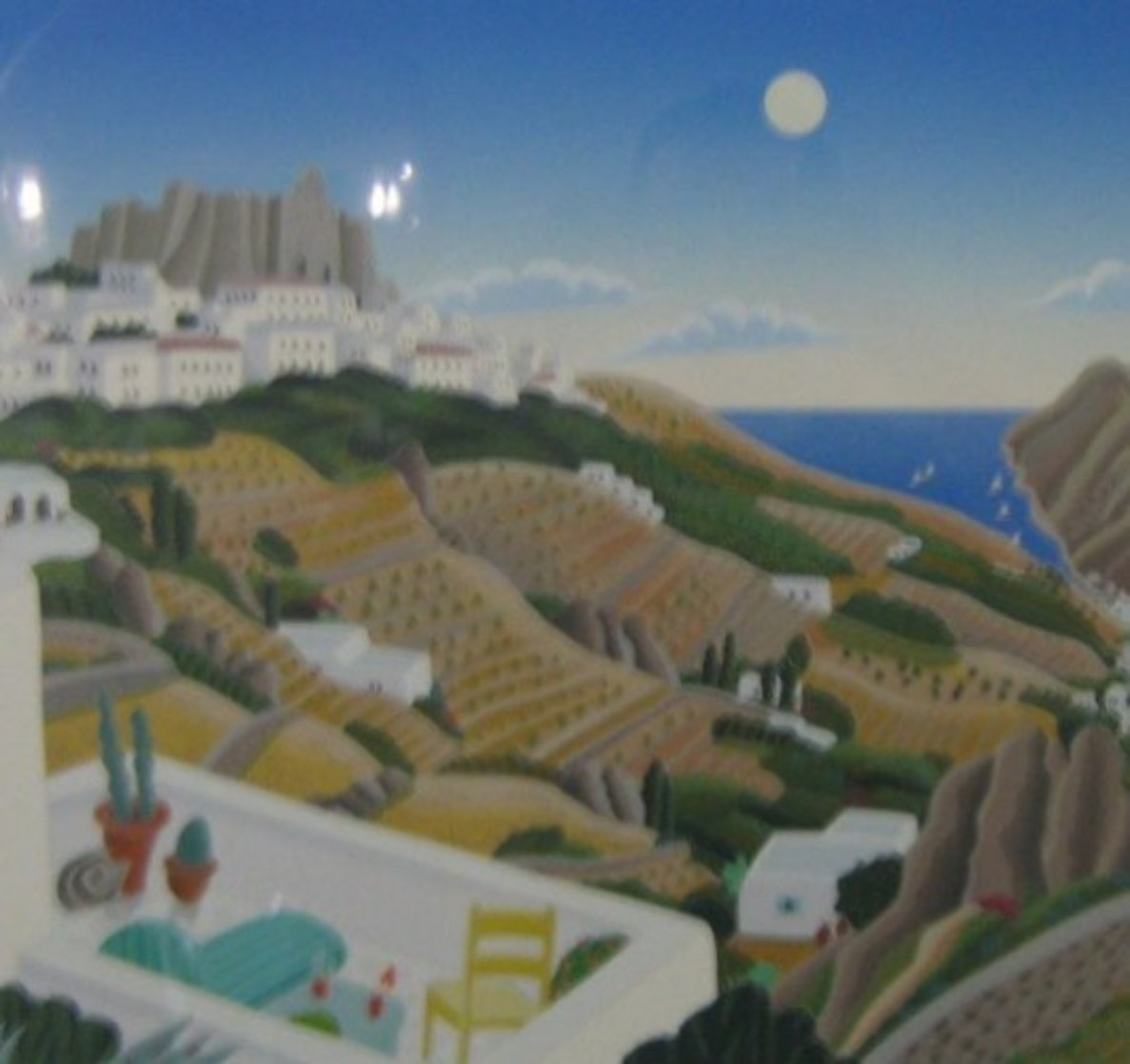 Chora View Limited Edition Print by Thomas Frederick McKnight