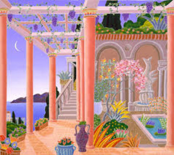 Ancient Garden Limited Edition Print by Thomas Frederick McKnight