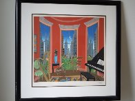 Music in Manhattan 1982 Super Huge Limited Edition Print by Thomas Frederick McKnight - 1