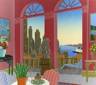 Ports of Call 1987 Super Huge Limited Edition Print by Thomas Frederick McKnight - 0