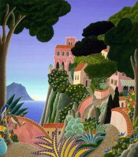 Capri (Southern Italy Suite) 20x22 Original Painting by Thomas Frederick McKnight