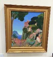 Capri (Southern Italy Suite) 20x22 Original Painting by Thomas Frederick McKnight - 4