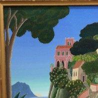 Capri (Southern Italy Suite) 20x22 Original Painting by Thomas Frederick McKnight - 3