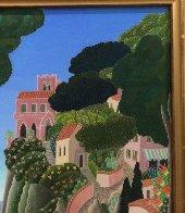 Capri (Southern Italy Suite) 20x22 Original Painting by Thomas Frederick McKnight - 6