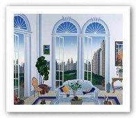 Columbus Circle New York 1998 Limited Edition Print by Thomas Frederick McKnight - 1