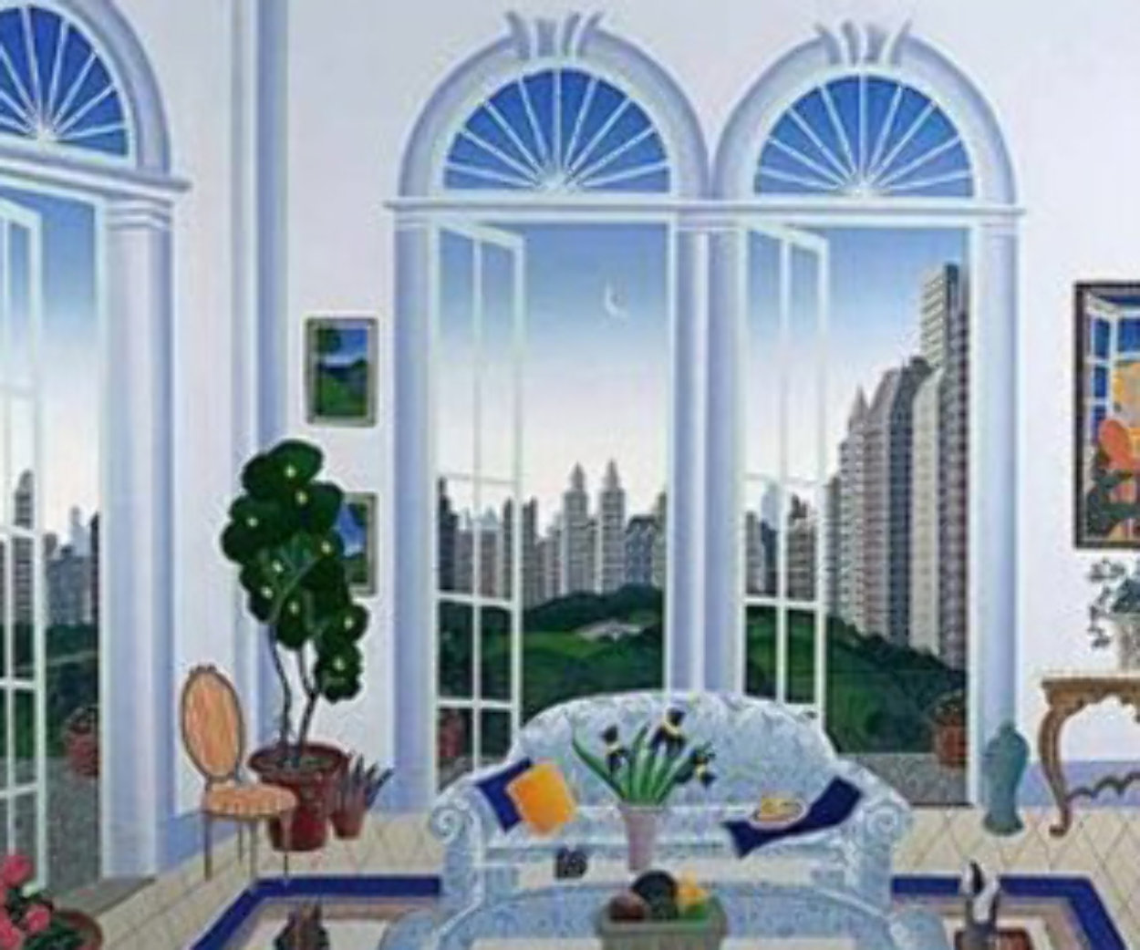 Columbus Circle New York 1998 Limited Edition Print by Thomas Frederick McKnight