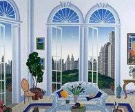 Columbus Circle New York 1998 Limited Edition Print by Thomas Frederick McKnight - 0