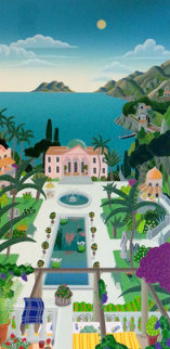 Riviera Villa 1993 Huge 50x27 Super Huge  Limited Edition Print - Thomas Frederick McKnight