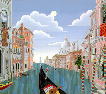 Venetian Evening Limited Edition Print - Thomas Frederick McKnight