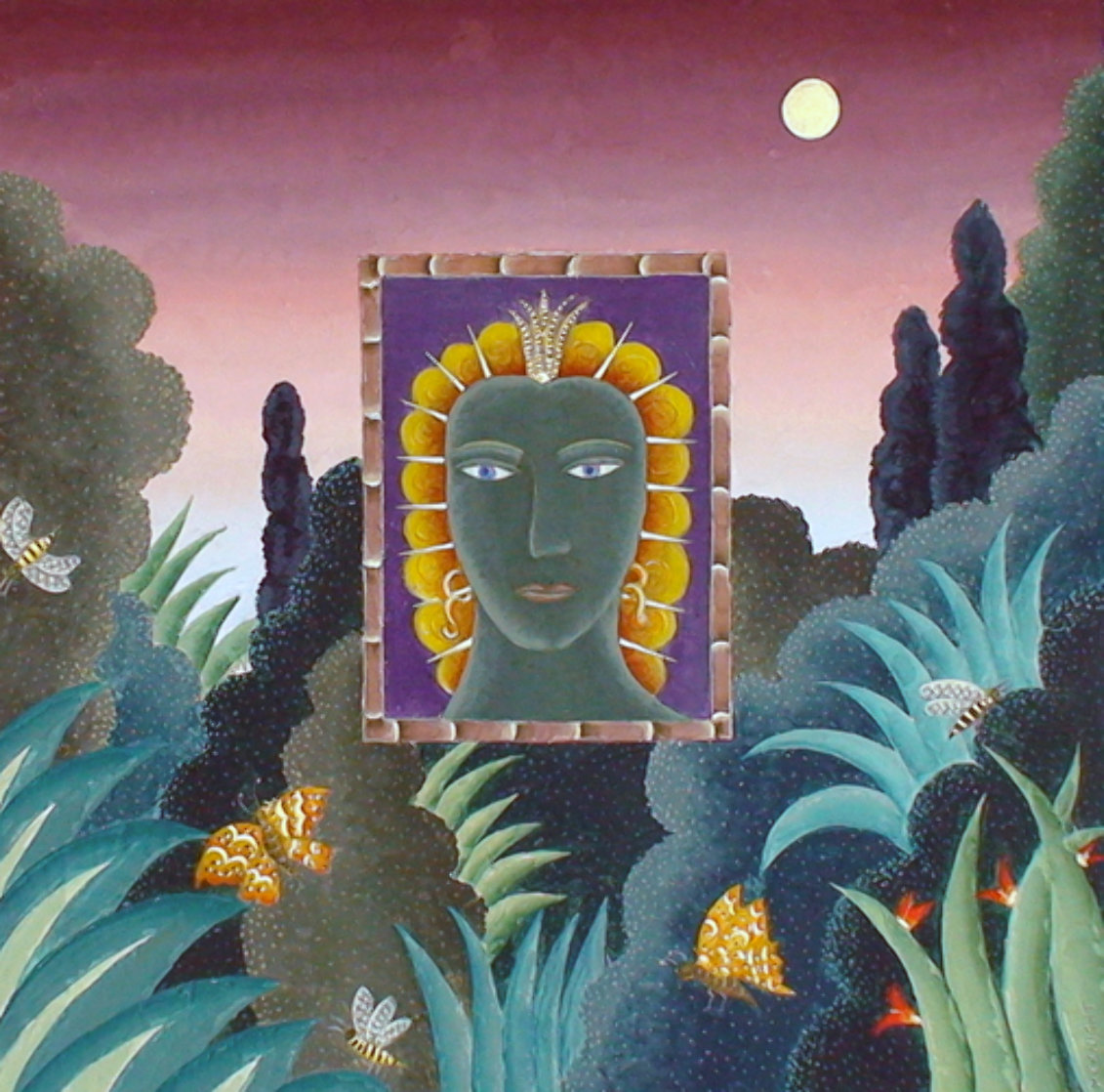 Ecuador 2008 48x48 Super Huge Original Painting by Thomas Frederick McKnight