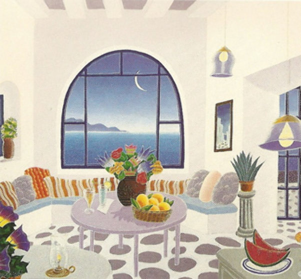 Mykonos II Suite of 10 Limited Edition Print by Thomas Frederick McKnight