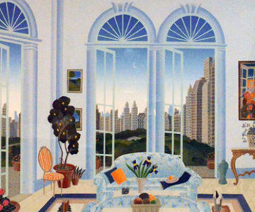 Columbus Circle, Central Park 1998 Limited Edition Print by Thomas Frederick McKnight