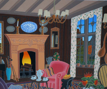 Cotswold Inn (England Suite) Limited Edition Print by Thomas Frederick McKnight