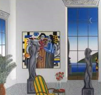 Leger Room 1984 Limited Edition Print - Thomas Frederick McKnight