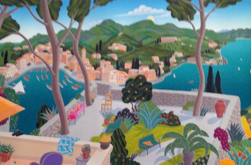 Portofino, Italy 2006 Limited Edition Print - Thomas Frederick McKnight