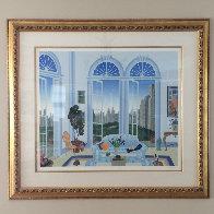 Columbus Circle, New York  Limited Edition Print by Thomas Frederick McKnight - 1