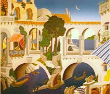 Classical Bridge Limited Edition Print by Thomas Frederick McKnight