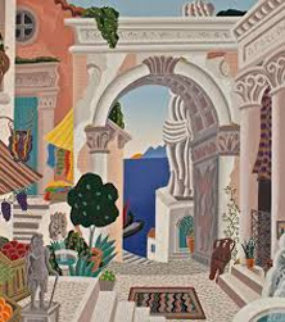 Classical City Gate Limited Edition Print by Thomas Frederick McKnight