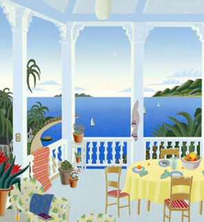 Tropical Evening  - Huge Limited Edition Print - Thomas Frederick McKnight
