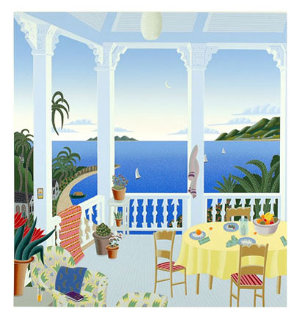 Tropical Evening Limited Edition Print by Thomas Frederick McKnight