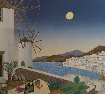 Mykonos Terrace AP 1983 Limited Edition Print by Thomas Frederick McKnight