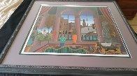 Capriccio  1988 Huge Limited Edition Print by Thomas Frederick McKnight - 5