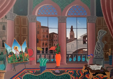 Capriccio  1988 Huge Limited Edition Print - Thomas Frederick McKnight