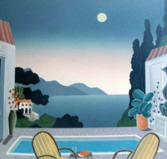 Riviera Villa 1993 Limited Edition Print - Thomas Frederick McKnight