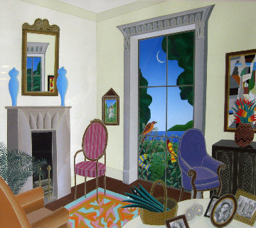 Untitled Interior 1980 Limited Edition Print by Thomas Frederick McKnight