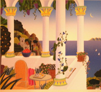 Amalfi Belvedere Limited Edition Print - Thomas Frederick McKnight