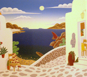 Aegean Cove 1993 Limited Edition Print by Thomas Frederick McKnight