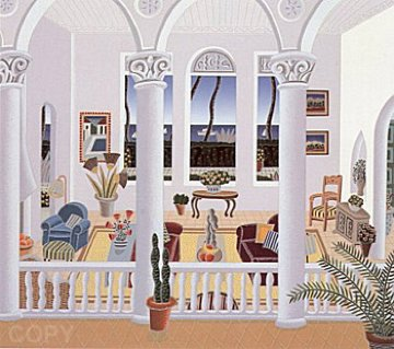 Villa Del Mar 1991 Limited Edition Print - Thomas Frederick McKnight