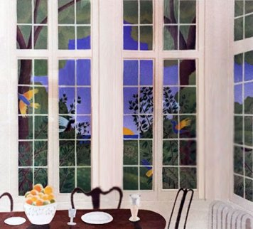 Breakfast Room AP 1981 Limited Edition Print - Thomas Frederick McKnight