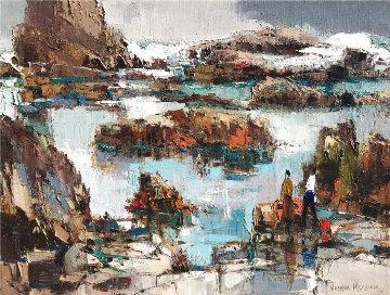 Tidepools 12x16 Original Painting - Joshua Meador