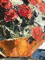 Red Roses 10x8 Original Painting by Joshua Meador - 2