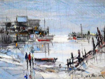 Tranquility 6x8 Original Painting - Joshua Meador