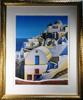 Oia on Santorini 2001 Limited Edition Print by Igor Medvedev - 1