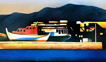 Golden Sunset 2002 Limited Edition Print by Igor Medvedev