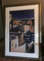 Grand View of Santorini 1998 Limited Edition Print by Igor Medvedev - 1