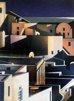 Grand View of Santorini 1998 Limited Edition Print - Igor Medvedev