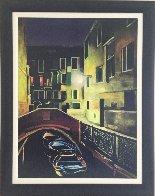 Magic of the Night, Venice 2012 48x38 Huge Original Painting by Igor Medvedev - 3